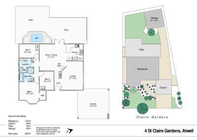 4 St Claire Gardens Atwell WEB